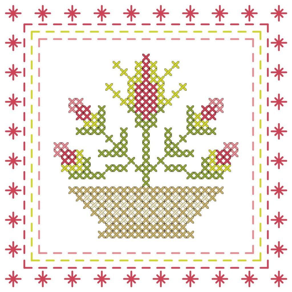cross stitch graph