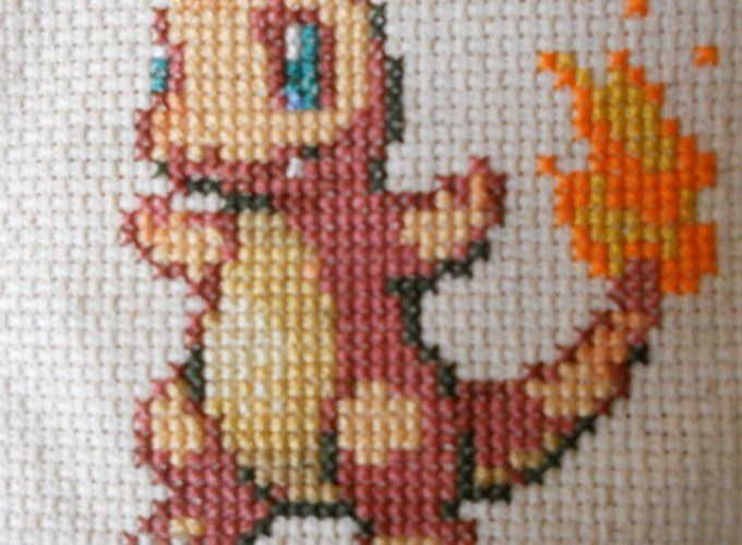cross stitch how to