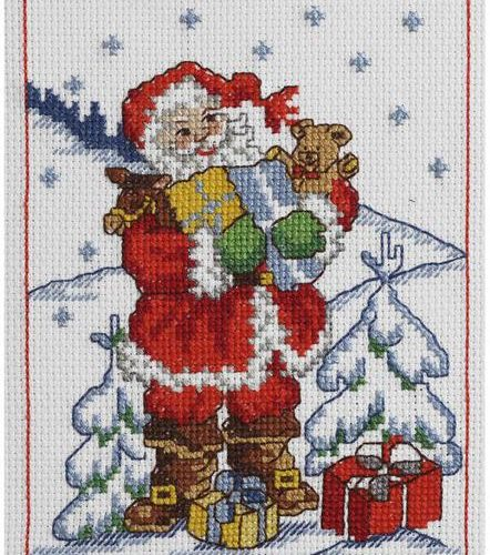 cross stitch kits christmas