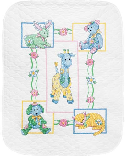 cross stitch kits for babies