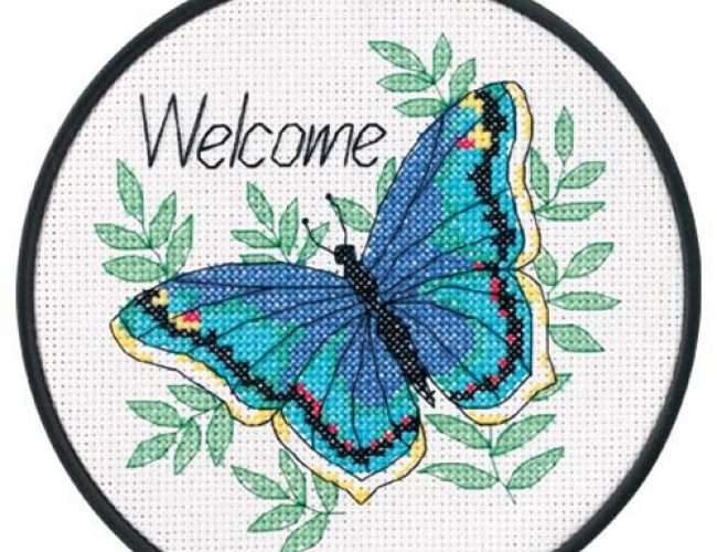 cross stitch kits for beginners