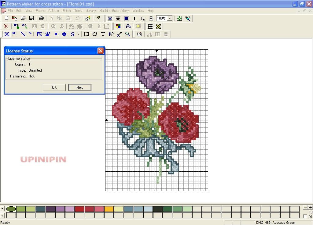 cross stitch maker