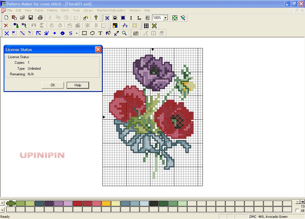 cross stitch patterns maker