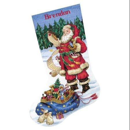 cross stitch stocking kit