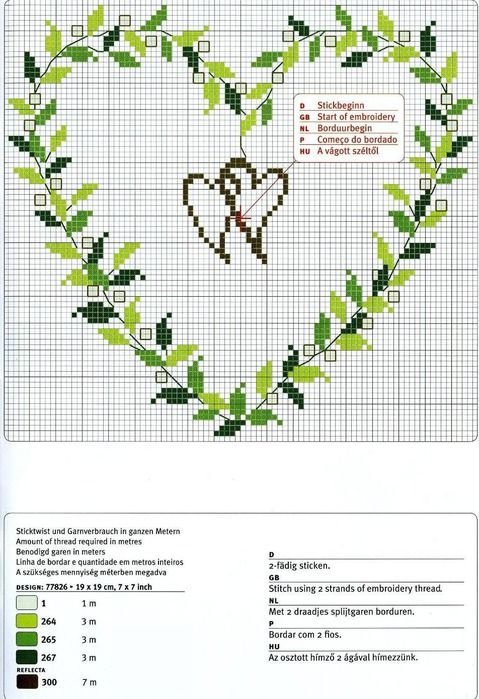cross stitch wedding patterns free
