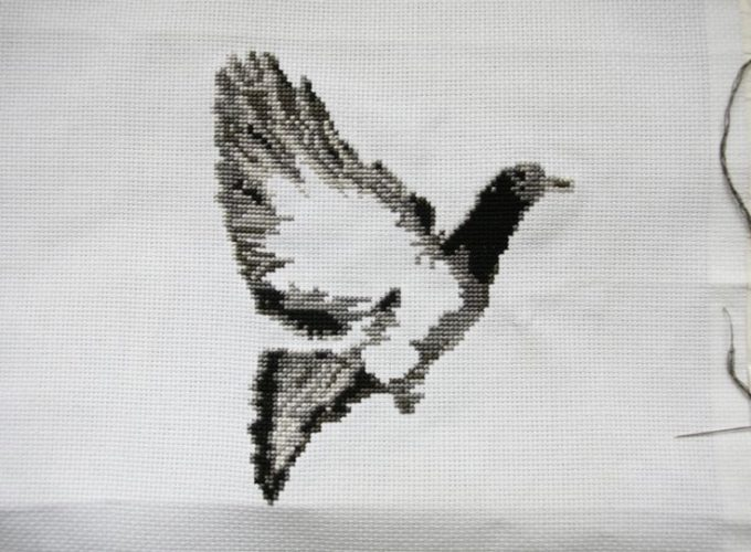 custom cross stitch pattern