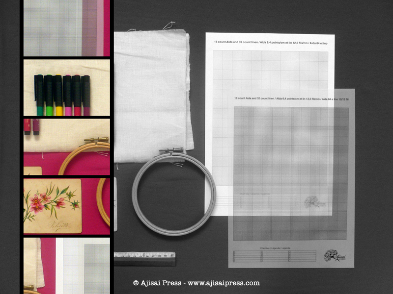 design your own cross stitch pattern