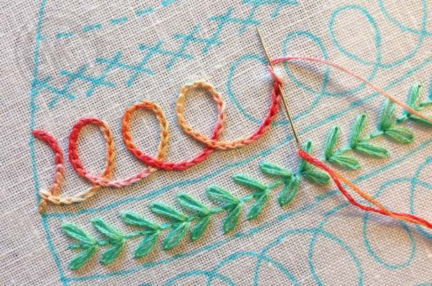 Different Hand Embroidery Stitches Free Cross Stitch