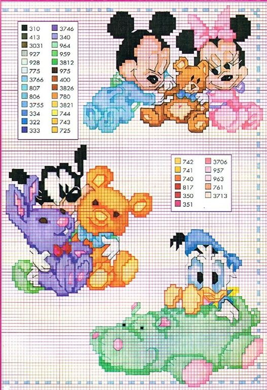 disney cross stitch patterns free