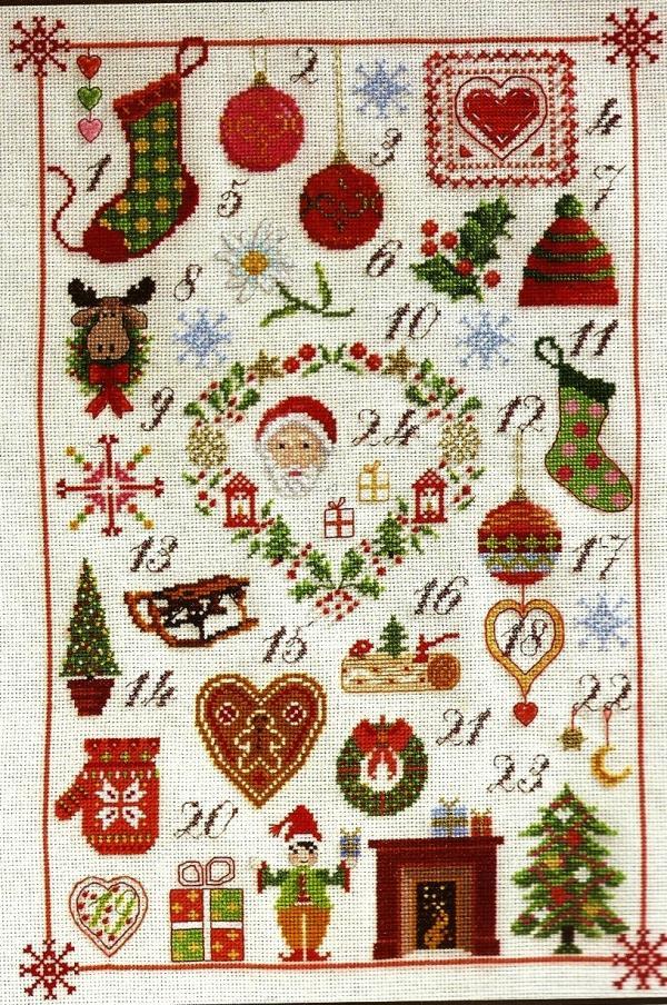 dmc cross stitch pattern