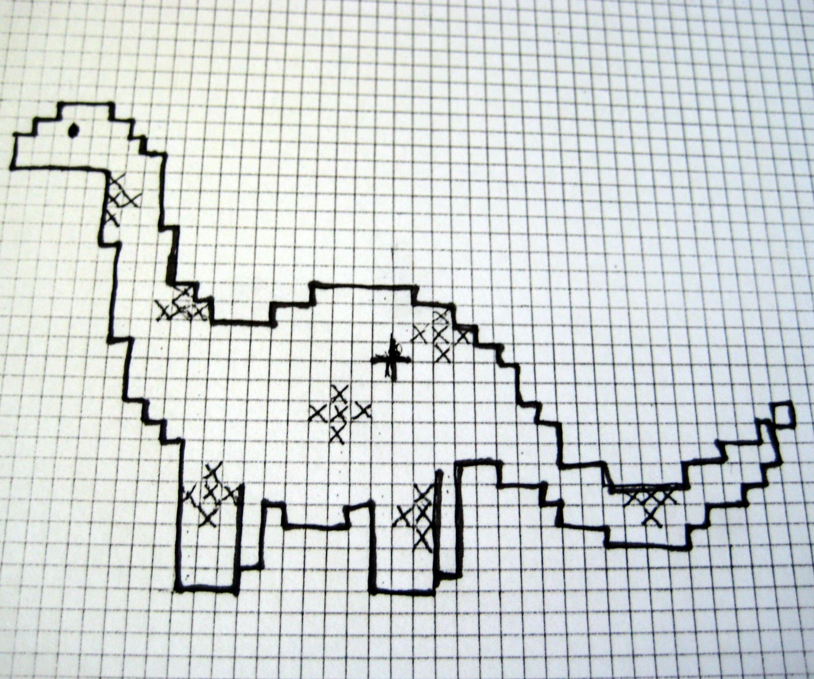 easy cross stitch for kids patterns