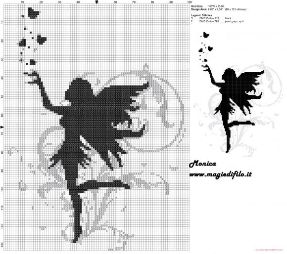 fairy cross stitch patterns