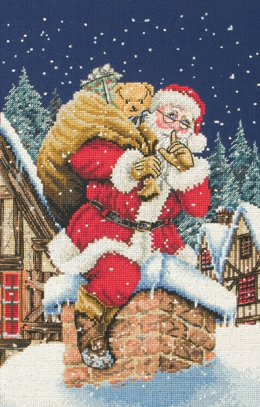 free counted cross stitch christmas patterns