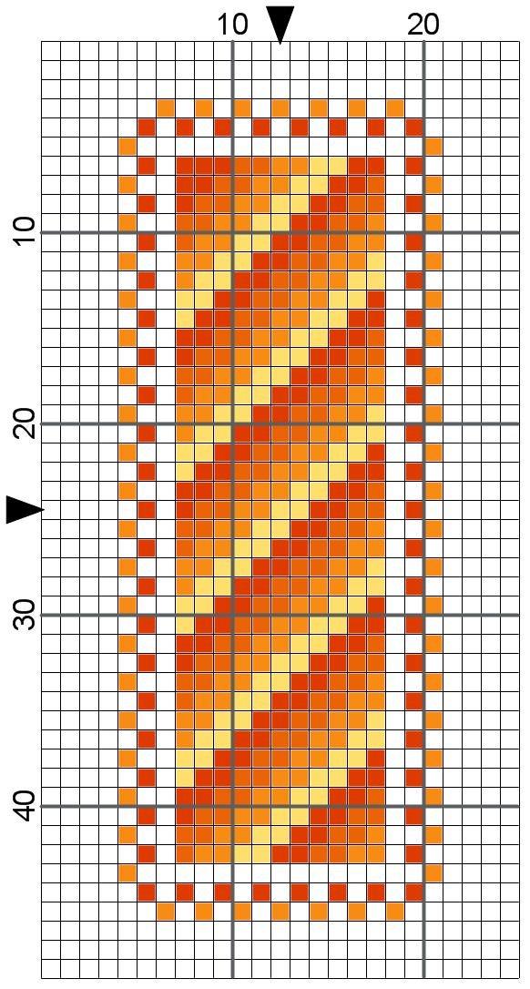free cross stitch bookmark patterns printable