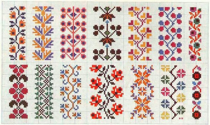 free cross stitch border patterns