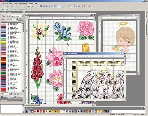 free cross stitch pattern maker software
