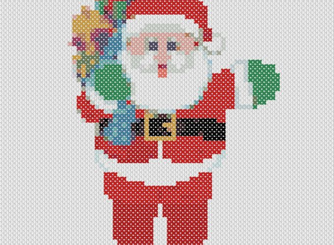 free cross stitch patterns christmas