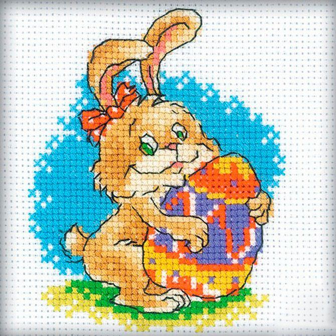 free easter cross stitch patterns