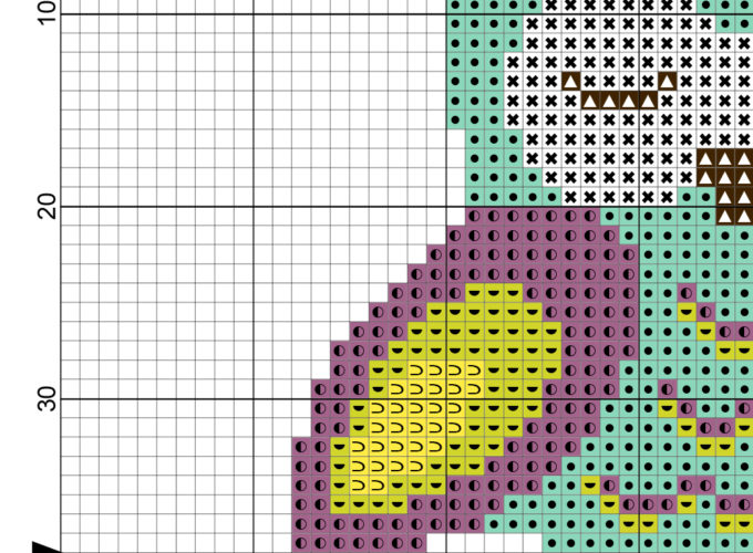 free owl cross stitch patterns