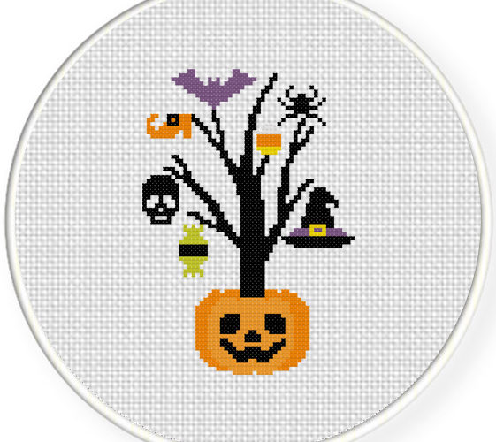 halloween cross stitch patterns free