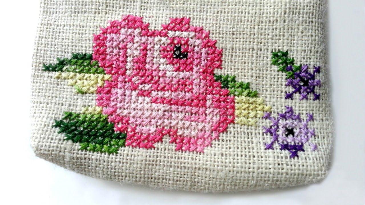 how to make cross stitch patterns