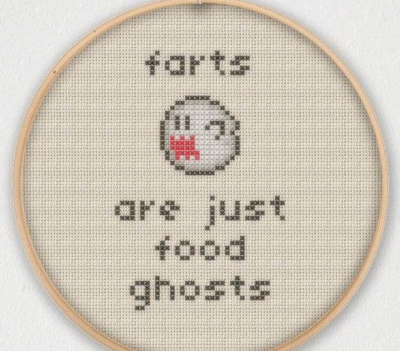 just cross stitch