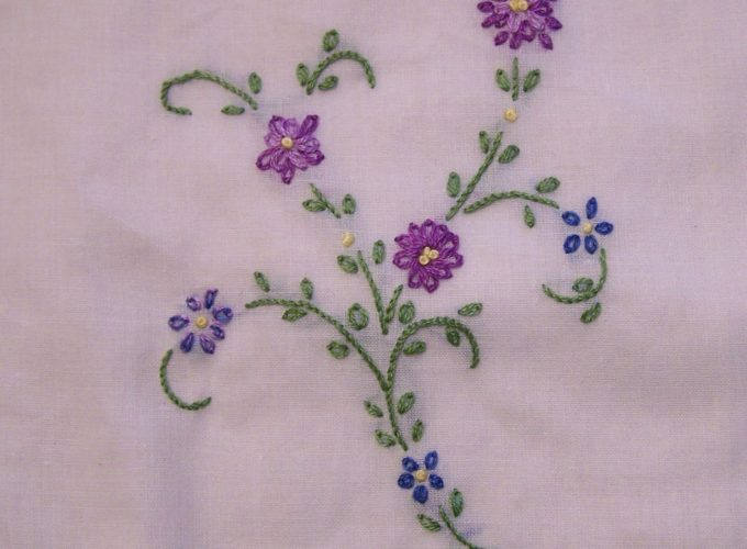 machine embroidery stitches