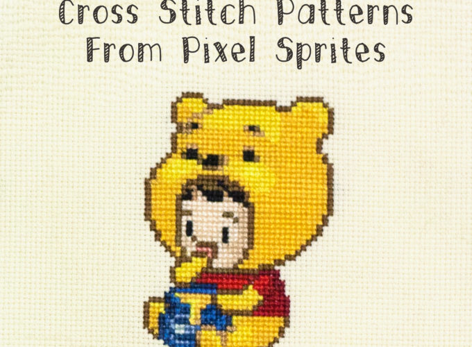 make a cross stitch pattern