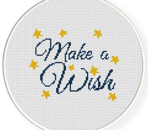 make cross stitch pattern