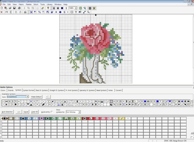 make your own cross stitch pattern free software