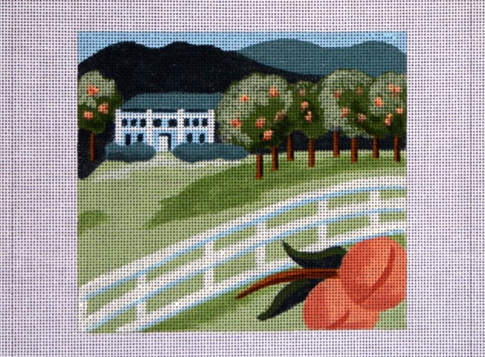 needlepoint canvases online