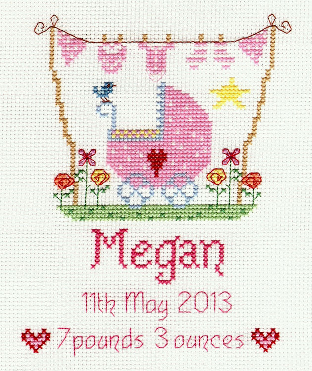 new baby cross stitch kits