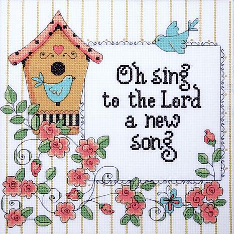 new home cross stitch