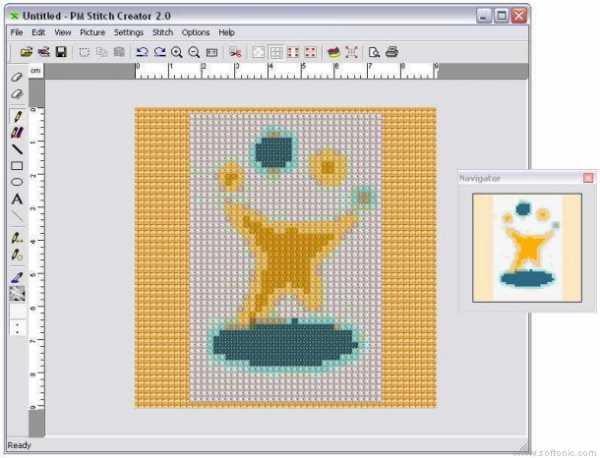 photo to cross stitch software