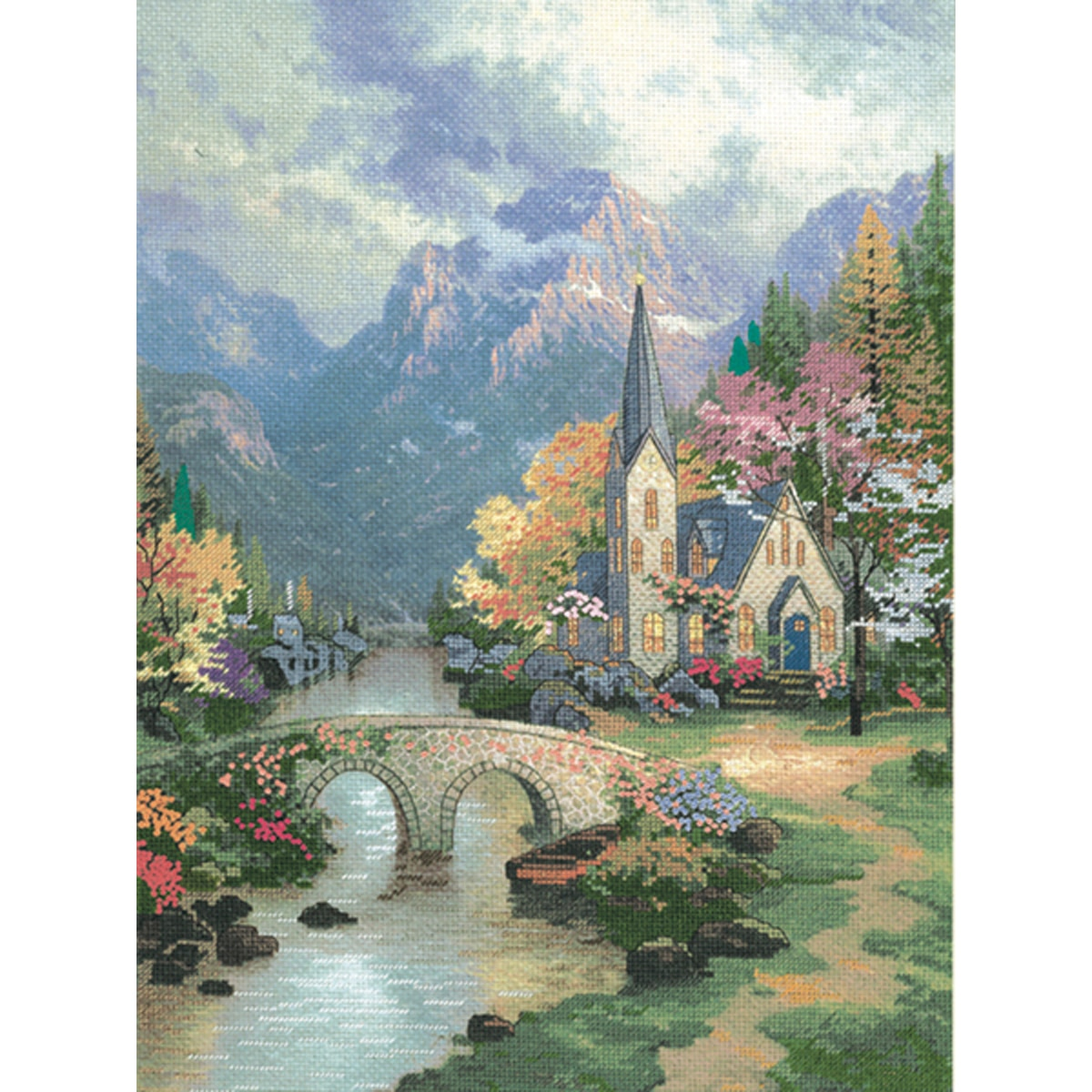 thomas kinkade cross stitch