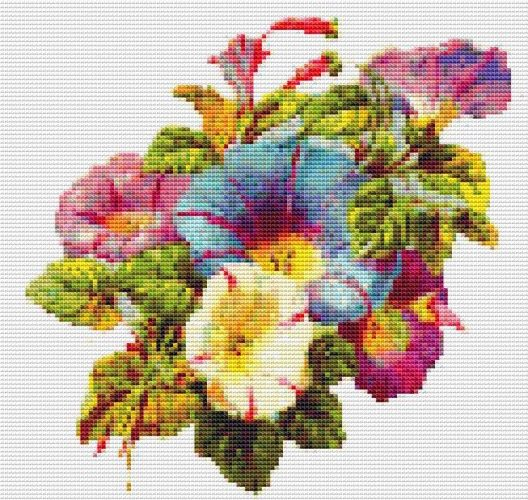 victorian cross stitch