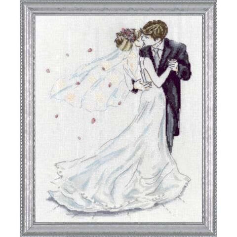 wedding counted cross stitch kits sale
